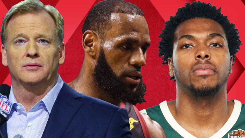 Celtics Rock LeBron, Cavs; NFL Anthem Policy; Sterling Brown Police Brutality Case | Out of Bounds