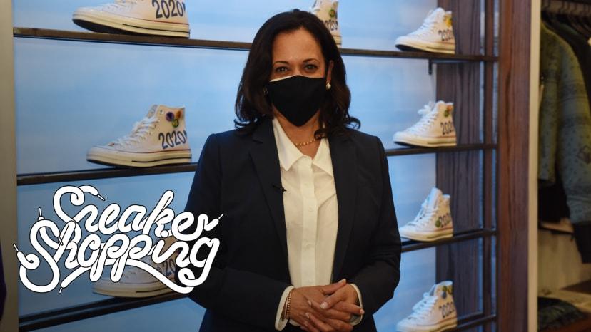 Senator Kamala Harris Goes Sneaker Shopping With Complex