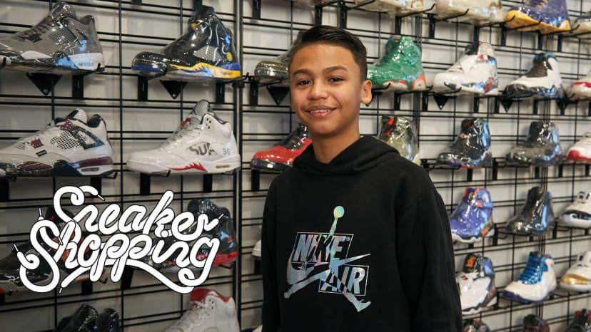 Fan Contest Winner Joel Galarza Goes Sneaker Shopping With Complex