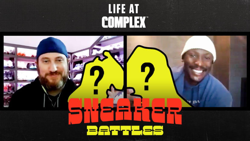 Josh Luber of StockX vs Charlotte Hornets Bismack Biyombo in a Sneaker Battle | #LIFEATCOMPLEX