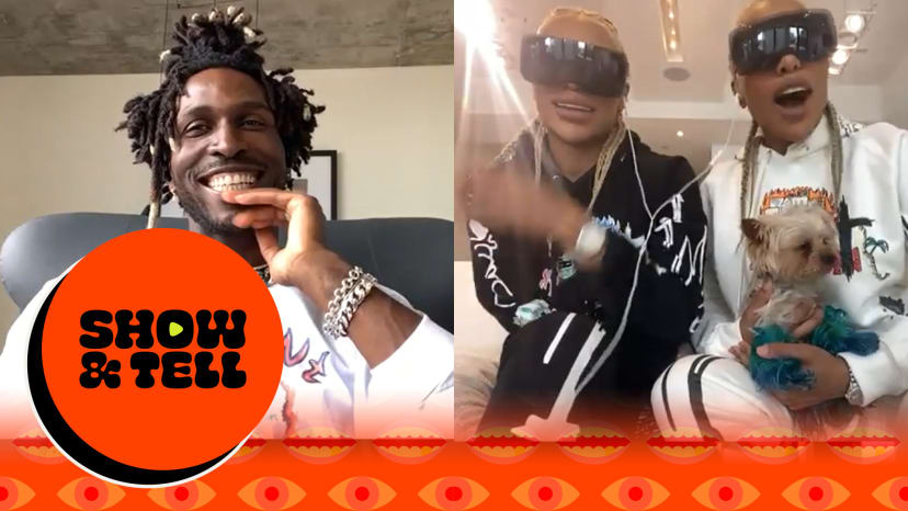 Saint Jhn & The Clermont Twins Celebrate Their Tik Tok Highlights | Show & Tell