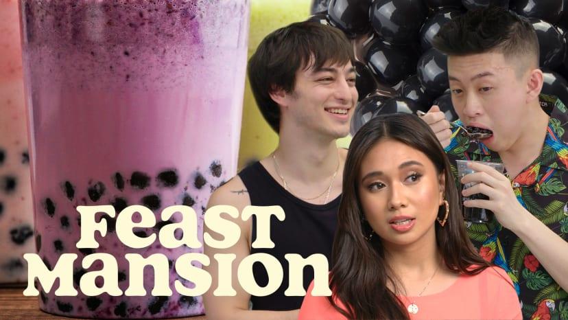 Joji Judges a Boba Tea Battle Between Rich Brian and NIKI | Feast Mansion