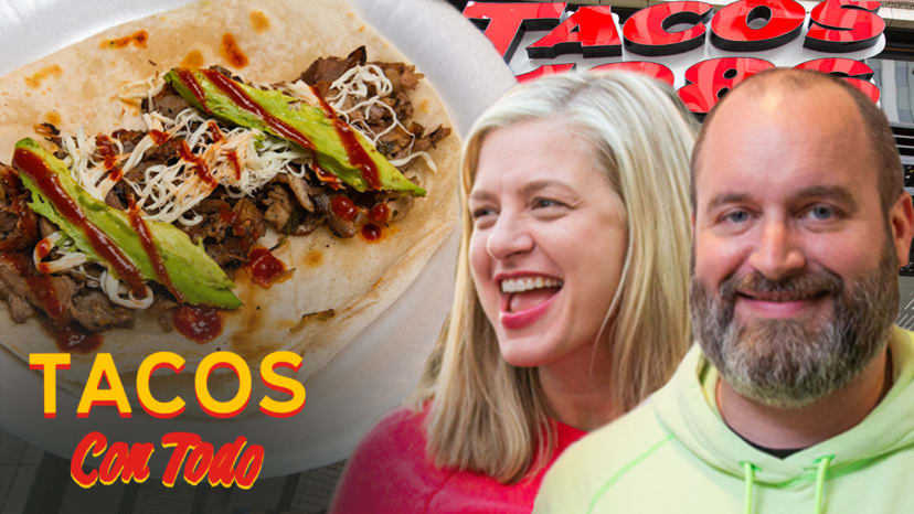 Tom Segura and Christina P Roast Each Other While Eating Tacos