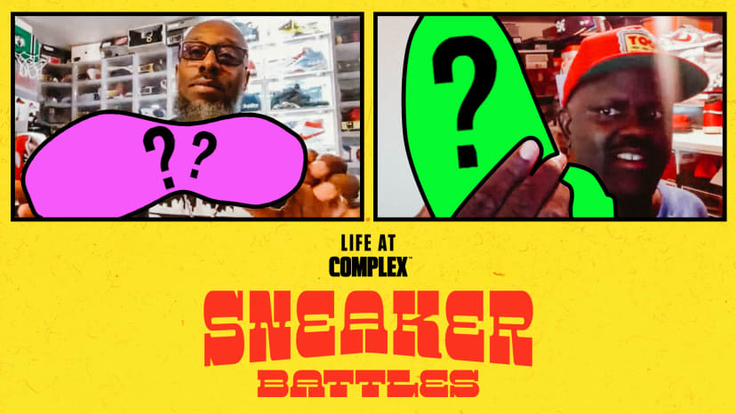 Jumpmanbostic vs DJGregStreet In A Legendary SneakerBattle | #LIFEATCOMPLEX