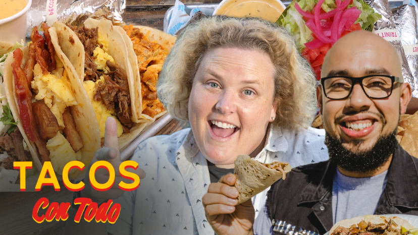 Fortune Feimster Does Improv While Eating Breakfast Tacos