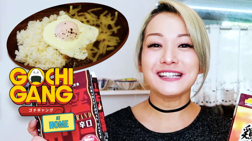 Reina Scully Cooks Easy-To-Make Japanese Meals | Gochi Gang At Home