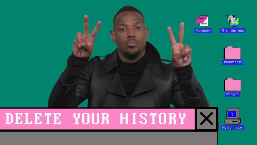 marlon wayans delete your history