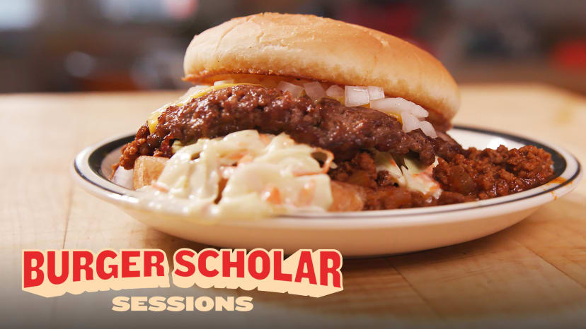 How to Cook the Ultimate Chili Cheeseburger with George Motz | Burger Scholar Sessions