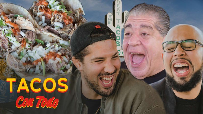Joey Diaz Talks Getting Heckled While Eating Tacos with Brendan Schaub | Tacos Con Tod