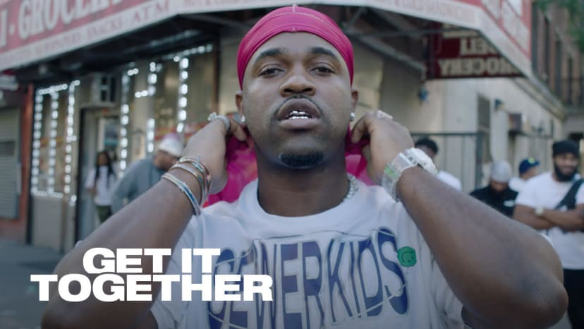 ASAP Ferg In Harlem For Complex's Get It Together Show