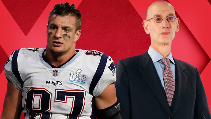 Pats-Gronk Workout Beef; Adam Silver Tanking Crackdown; Athletes Hiding F*ckery | Out of Bounds
