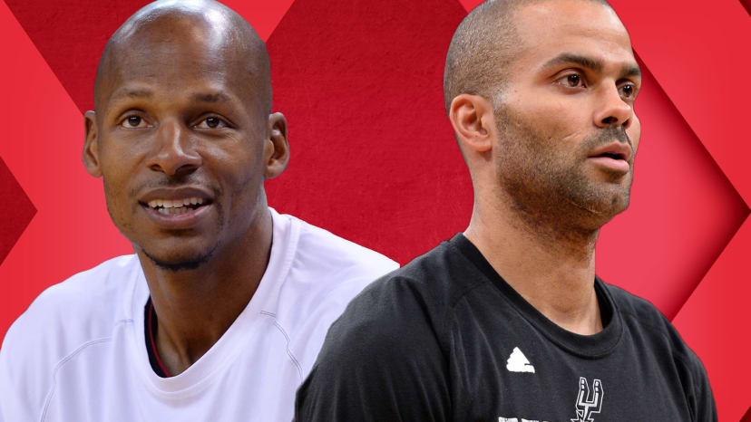 ray allen catfished tony parkers not a great player out of bounds