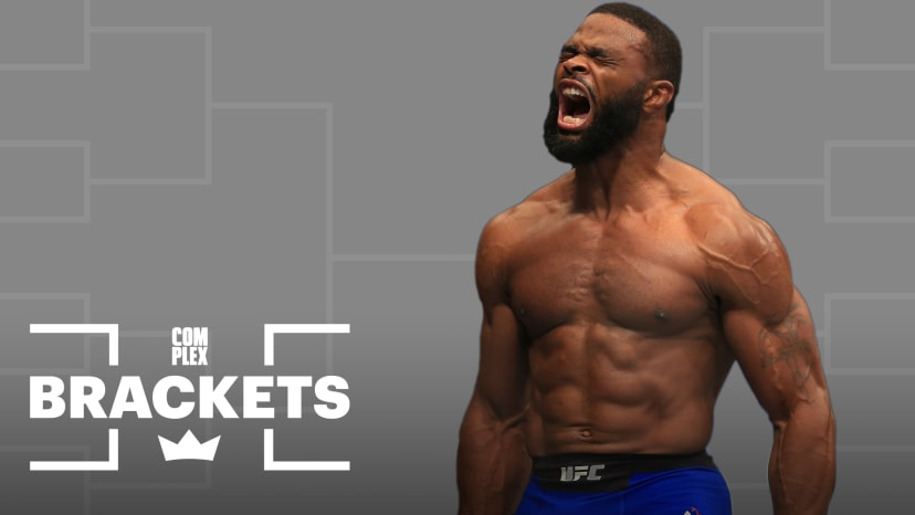 Tyron Woodley Crowns The Best Rapper in the West Coast | Complex Brackets
