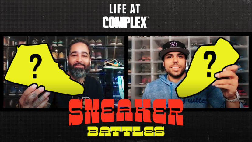 Twojskicks vs SBCollector in a Sneaker Battle From Home | #LIFEATCOMPLEX
