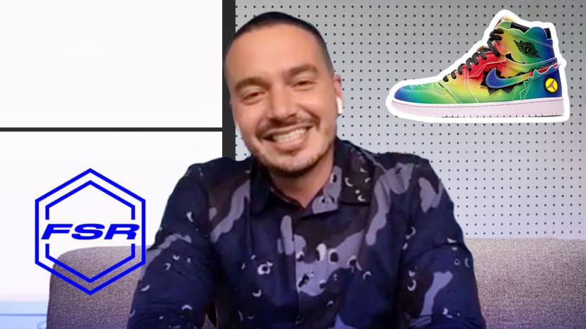 How J Balvin Convinced Michael Jordan To Give Him His Own Sneaker | Full Size Run