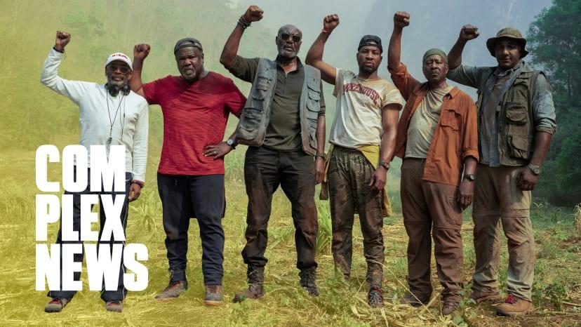 Spike Lee & the Cast of 'Da 5 Bloods' Speak on Black Lives Matter & Details Behind the Vision of the