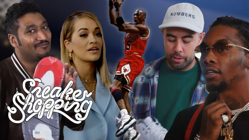Sneaker Shopping: Celebrities Share Untold Air Jordan Stories