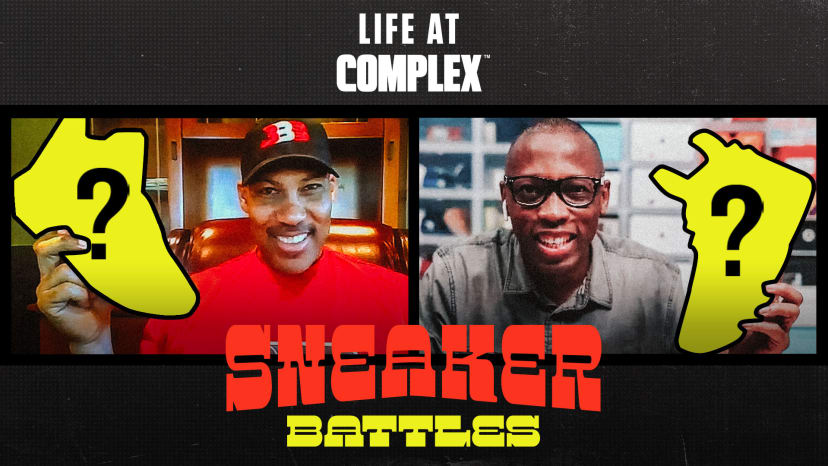 Lavar Ball vs Jacques Slade in a Sneaker Battle From Home | #LIFEATCOMPLEX