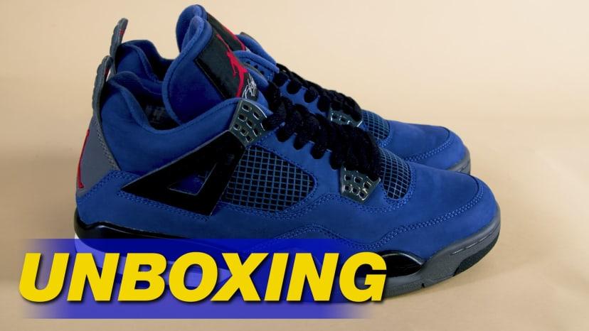 Eminem Air Jordan 4 IV Encore Unboxing