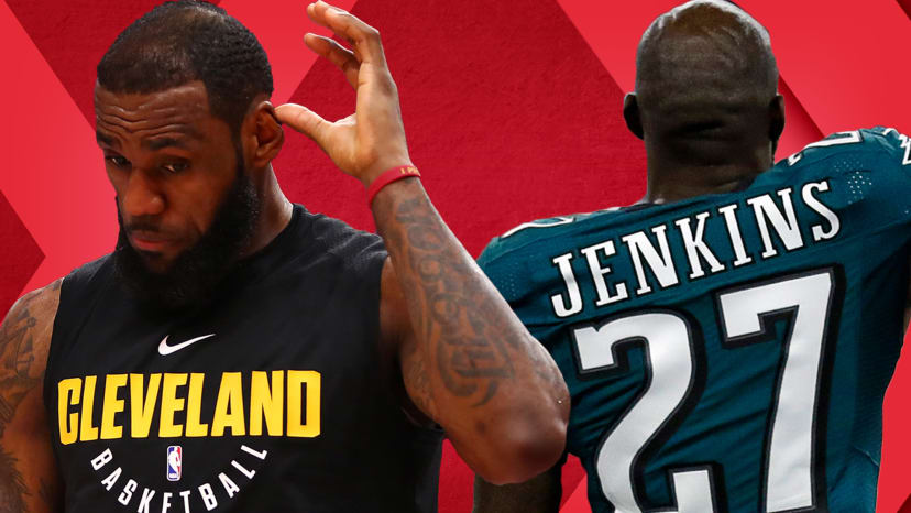Eagles White House Protest; Gilbert Arenas Fixes LeBron's Cavs; Brady's Pats SB LIII Faves? | Out of