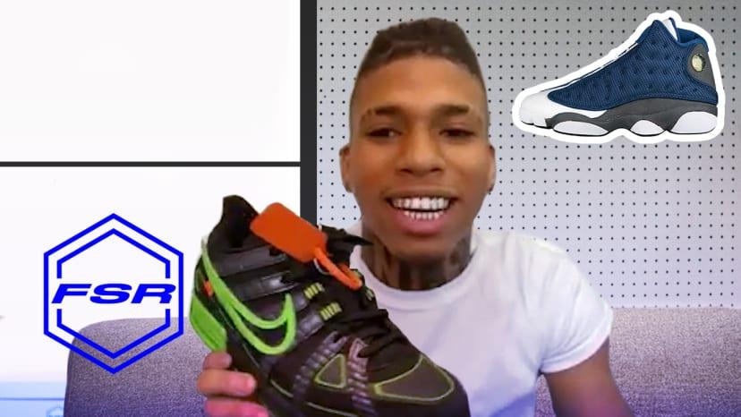 How NLE Choppa Went From Fake Jordans to Free Jordans | Full Size Run