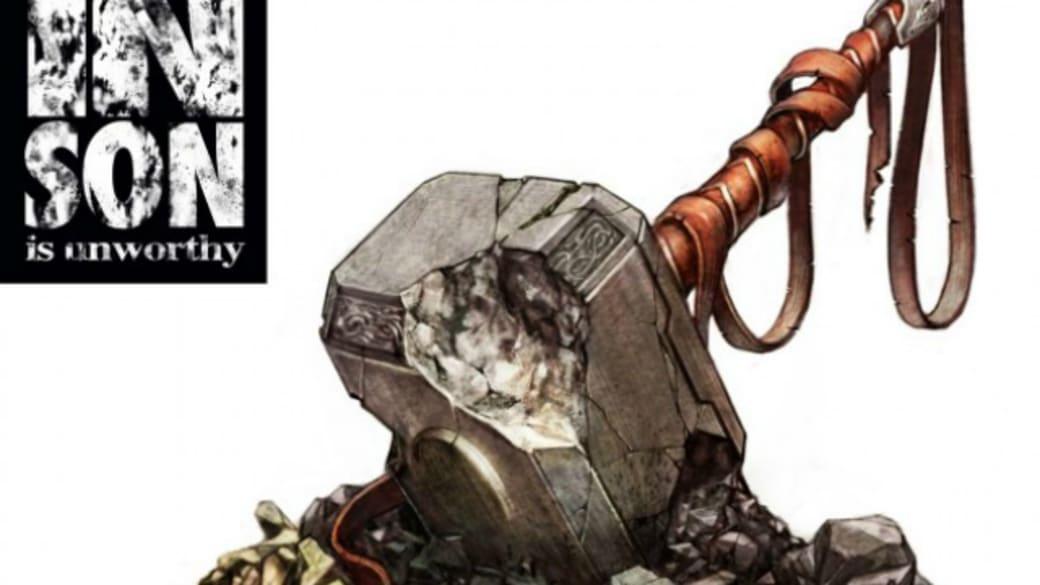 'Unworthy Thor' #1 Hip-Hop Variant