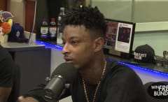 21 Savage on 'The Breakfast Club' in August of 2016.