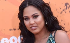 Ayesha Curry on the red carpet at Nickelodeon Kids Choice Awards