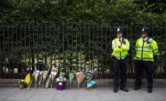 Memorial for Woman Stabbed in London