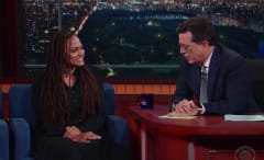 Ava DuVernay chats with Colbert on 'Late Show'