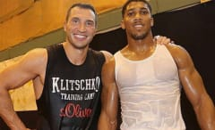 Joshua vs Klitschko tweet