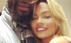 R. Kelly with Halle Calhoun