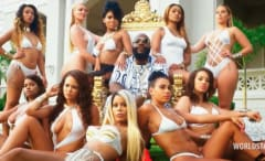 "Rick Ross ""Same Hoes"" video."