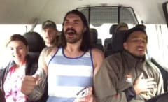 Steven Adams sings Backstreet Boys