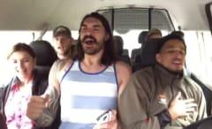 Steven Adams sings Backstreet Boys