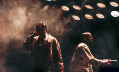 Travi$ Scott and Kanye West