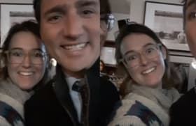 Justin Trudeau Got More Than He Bargained For With This Selfie