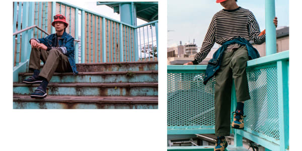 Revel in High Summer with Hi-Tec Japan's Shibuya Crossover Editorial