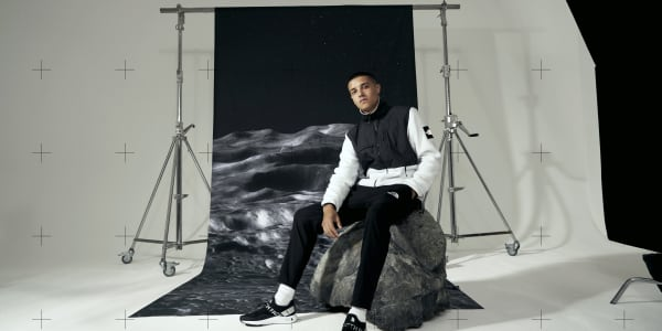 Moon Walk with The North Face's New Lunar Voyage Capsule Collection
