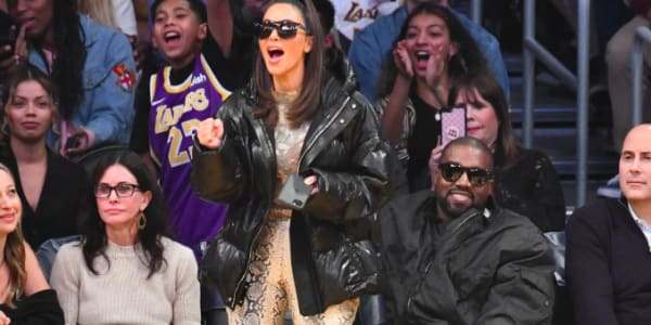 Fans Are Convinced Kim Kardashian Booed Tristan Thompson at Cavs-Lakers Game