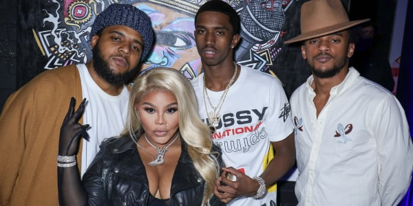 Lil Kim, King Combs, and More Honor B.I.G. at 'Biggie Inspires' Art Exhibit