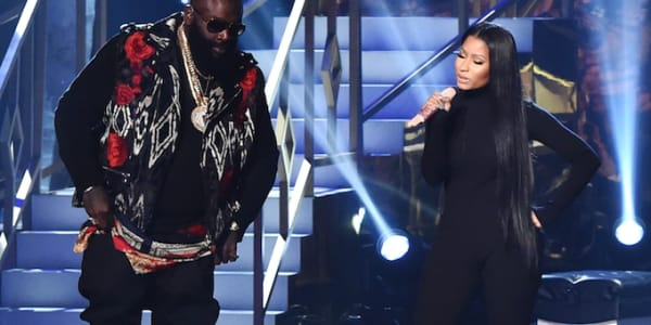 """Nicki Minaj Takes Shots at Rick Ross in Response to """"Apple of My Eye"""""""