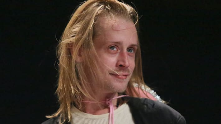 WTF Is Macaulay Culkin Doing Interfering in a Wrestling Match