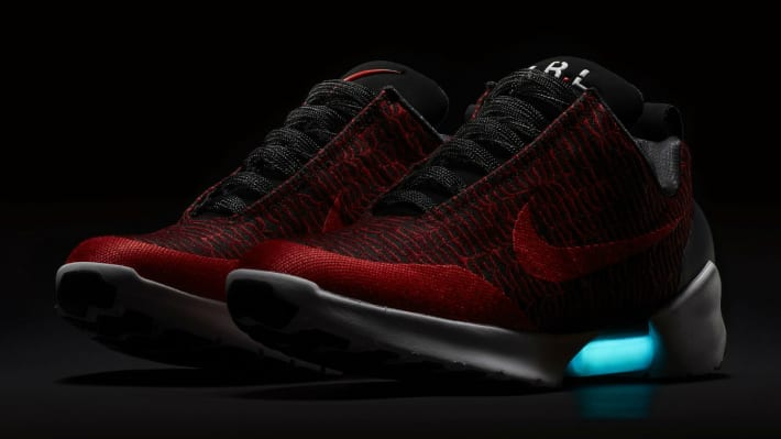 A Different Look for the Self-Lacing Nike HyperAdapt 1.0