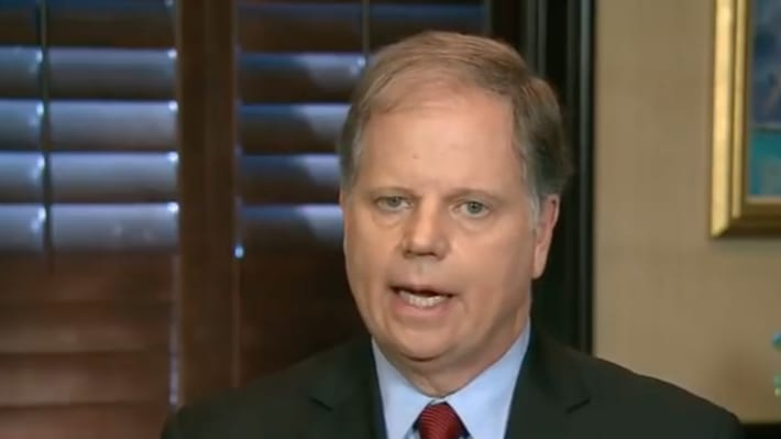 Doug Jones on Trump Sexual Assault Allegations: 'We Need to Move On'