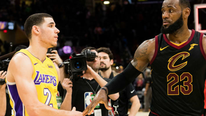 We Now Know What LeBron James Told Lonzo Ball During That 'Secret' Conversation