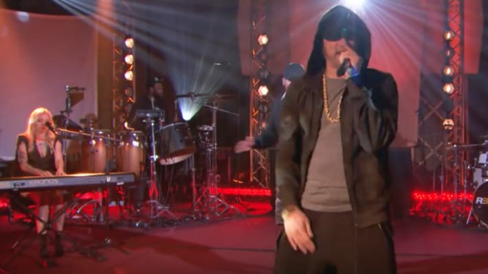 Watch Eminem Perform a Medley of Songs on BBC Radio 1