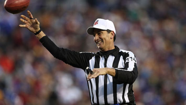 NFL Ref's 'Highly Unusual' Use of an Index Card Was Perfectly Legal