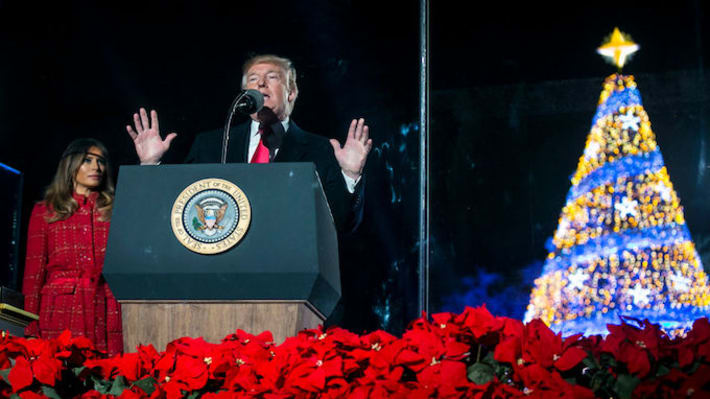 Donald Trump Ruins Christmas in Jesus' Hometown