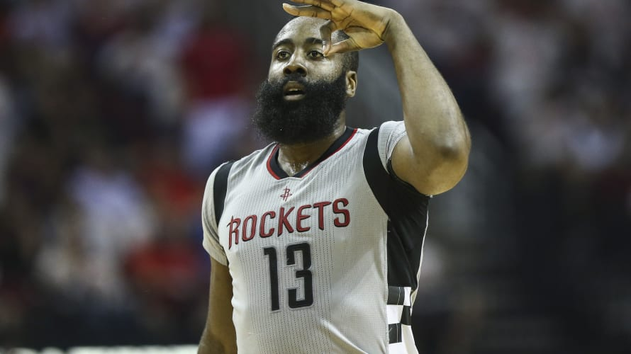 James Harden Spurs Rockets Game 4 2017
